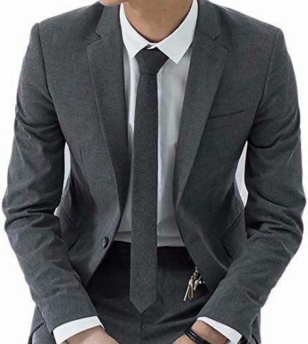 テーラードジャケット メンズ スーツジャケット ビジネス ブレザー 夏 春秋 長袖 カジュアル 一つボタン パーティー フォーマル サマージャケット スリム