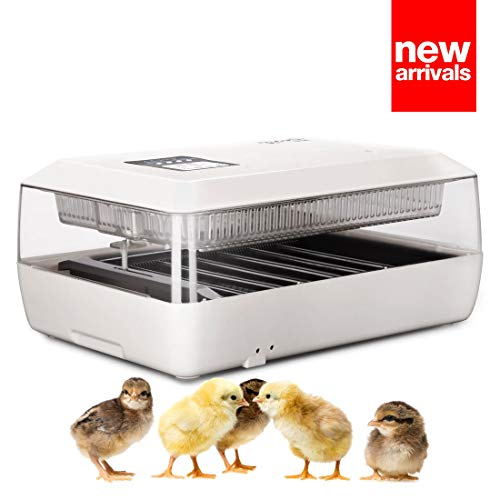 (HOMAKER Digital Fully Automatic Egg Incubators for Hatching 30 Eggs with Automatic Turner, Poultry Hatcher for Chickens Ducks Goose Birds Quail)