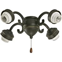 Emerson Ceiling Fans F490VNB 4-Light Transitional Fitter in Venetian Bronze by Emerson
