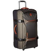 Timberland Luggage Twin Mountain 26 Inch Wheeled Duffle, Burnt Olive/Burnt Orange, One Size