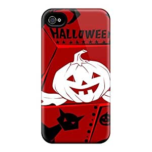 Durable Hard Cell-phone Cases For Iphone 4/4s (dPr5223kNQo) Custom Stylish Helloween Band Pattern