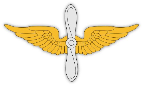 USA United States Army Aviation Branch insignia sticker decal 6