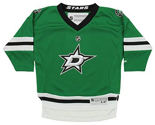 (NHL Toddler (2T-4T) Dallas Stars Team Color Replica Jersey, Green One Size (2T-4T))
