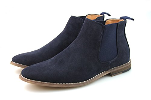 By Neki Bottes pour Homme - - Black, Brown, Tan, Camel, Navy Blue, 39 EU