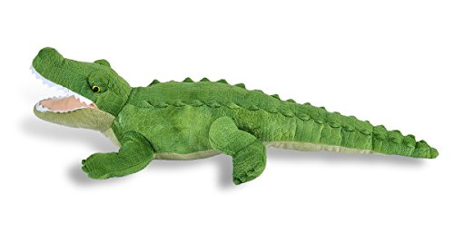 41Z8DftaaaL - Wild Republic Green Alligator Plush, Stuffed Animal, Plush Toy, Gifts For Kids, Cuddlekins, 23""