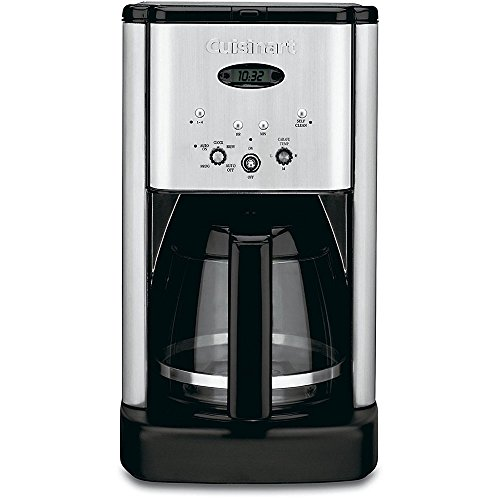 Cuisinart DCC-1200FR Brew Central 12-Cup Coffeemaker, Brushed Stainless Steel (Renewed) (Best Coffee Pot For The Money)
