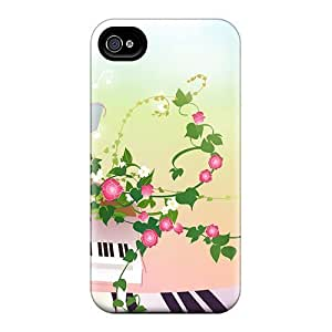 Hard Plastic Iphone 6 Cases Back Covers,hot Melody And Flowers Cases At Perfect Customized