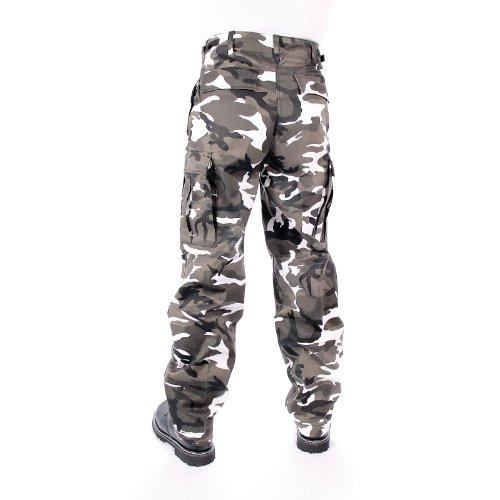 Mil-Tec Us Ranger Hose Typ BDU Pantalon armée Homme 3