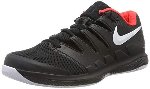 Nike Air Zoom Vapor X Men's Tennis Shoes Size 9.5 Black/Crimson