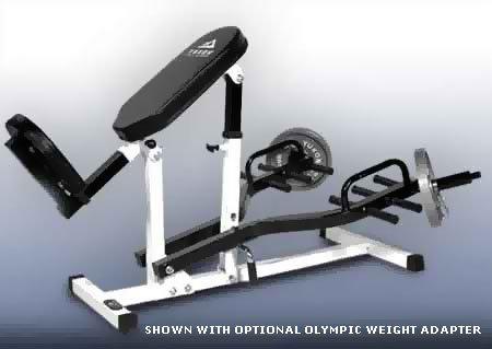 Angled Back Core Gym