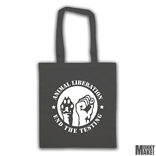 different testing LIBERATION colours end ANIMAL bag tote the Charcoal w4YUgUq