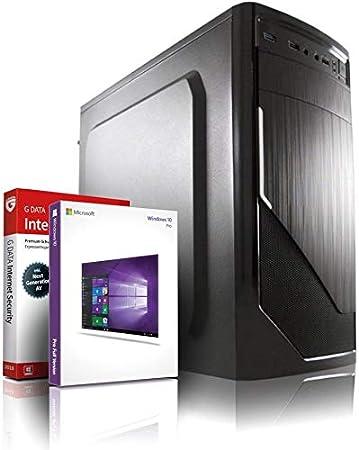 #6263 AMD FX-8800 4x3.4 GHz Entry Gaming//Multimedia//Office 12-Kern Computer mit 3 Jahren Garantie! 256 GB SSD MS Office 8Kern Grafik Radeon DX12 Windows10 USB3.1 8GB DDR4 22x DVD/±RW