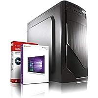 Entry Gaming/Multimedia/Office 12-Kern Computer mit 3 Jahren Garantie!   AMD FX-8800 4x3.4 GHz   16GB DDR4   512 GB SSD   8Kern Grafik Radeon DX 12   USB3.1   WLAN   22x DVD±RW   Win10 64-Bit   #6122