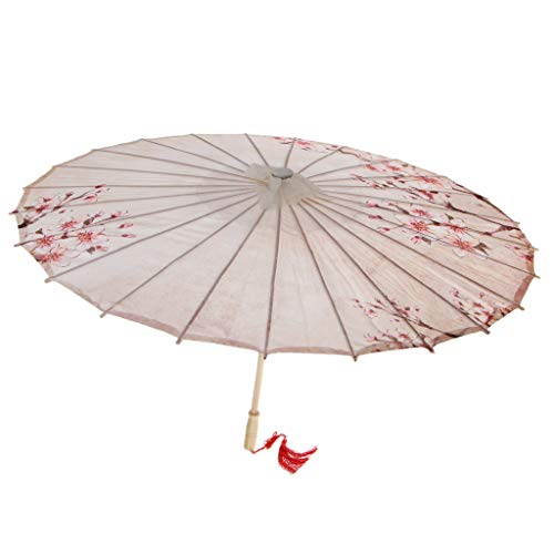 Prettyia Japanese Chinese Umbrella Parasol Wedding Parties Costumes Cosplay Decoration - 15 by Prettyia