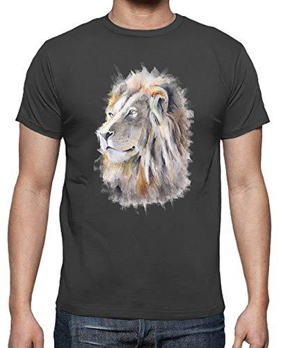 Leone Re T shirt Grigio Uomo Tostadora zx0npAgz