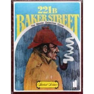 Original Sherlock Holmes Costume (Baker Street Mystery Game Board Game)