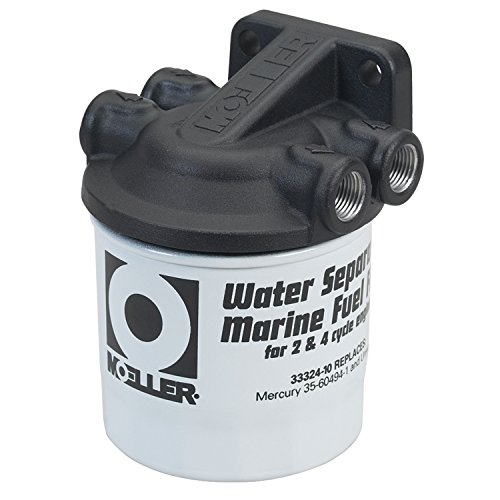 Moeller Water Separating Fuel Filter System (3/8