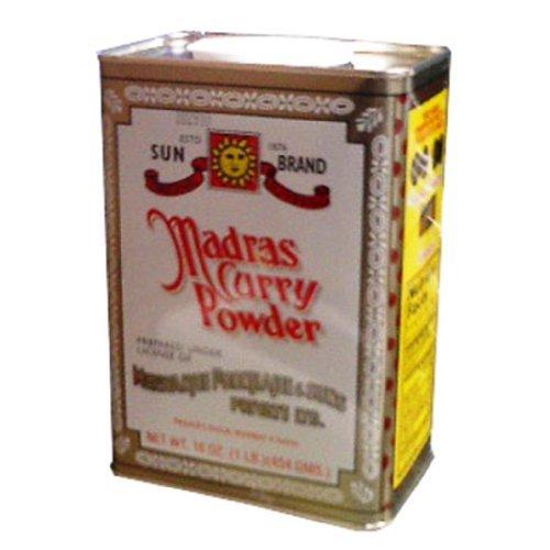 Sun Brand Madras Curry Powder 16oz/12 (Case of 12)