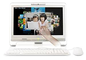 MSI AIO AE1900-01SUS 18.5-Inch Touch Screen Desktop PC - White (Discontinued by Manufacturer)