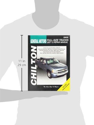 amazon com gm full size trucks chilton repair manual 2007 2012 rh amazon com 2017 GMC Yukon Denali 2007 gmc yukon denali parts manual