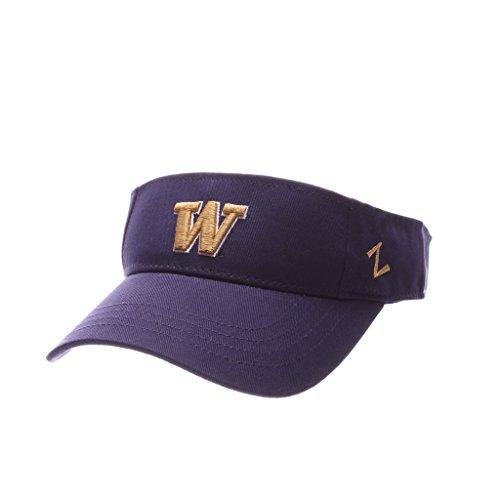 Zephyr Washington Huskies Official NCAA Visor Adjustable Hat by 290507 by Zephyr