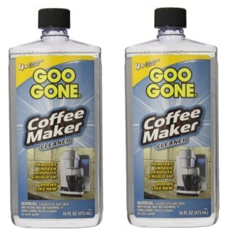 Goo Gone Coffee Maker Cleaner, 2 Pack of 16 Fluid Ounce Coffee Store
