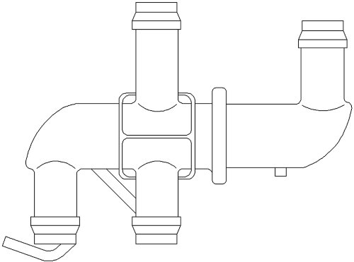 ACDelco 15-50419 Heater Valve