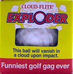 Cloud-Flite Exploder Exploding Golf Ball Gag 1.68