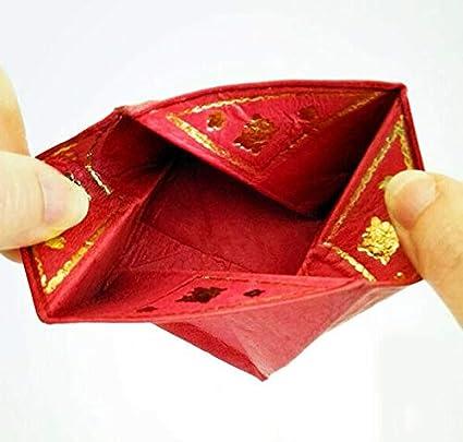 Porte-Monnaie marocain en Cuir Pliable