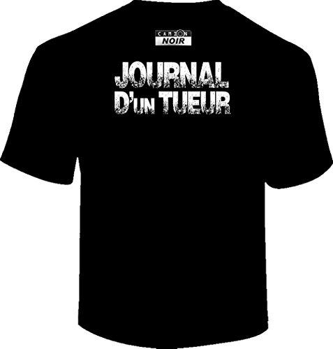 Camion Noir Herren T-Shirt Schwarz Schwarz