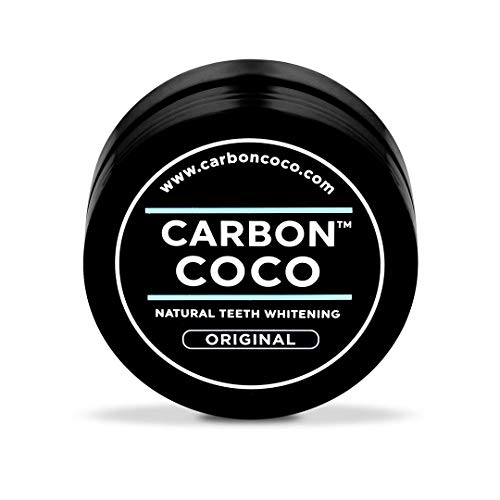 Carbon Coco | Original Flavor | Activated Charcoal Teeth Whitening Powder | Alternative to Charcoal Toothpaste, Strips, Kits, & Gels