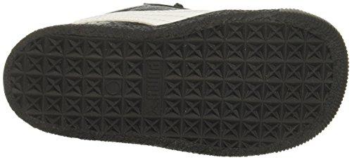 PUMA Unisex-Kids Clyde Core L Foil, Black, 8 M US Toddler