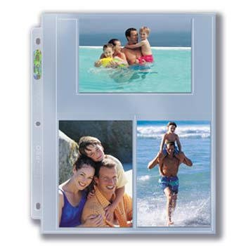 Ultra PRO 4x6 Photo Page 25ct. Pack for 8.5'' x 11'' Album