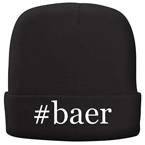 BH Cool Designs #BAER - Adult Hashtag Comfortable Fleece Lined Beanie, Black