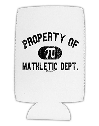 TooLoud Mathletic Department Distressed Collapsible Neoprene Tall Can Insulator