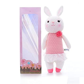 Metoo tiramitu bunny pink dress dolls baby girl stuffed rabbit metoo tiramitu bunny pink dress dolls baby girl stuffed rabbit toys birthday easter gifts negle Image collections