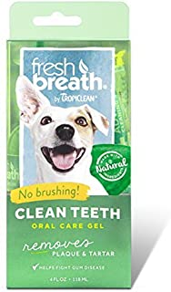 product image for Tropiclean Fresh Breath Plaque Remover Pet Clean Teeth Gel 4oz Pack of two (8 oz total)