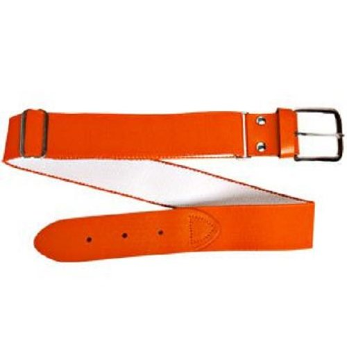 Wilson Adult Elastic Baseball Belt, Orange