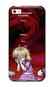 For Iphone Case, High Quality Earthbound Giygas Anime Game Games Mood Sad Crying Girl Blood Dark For iPhone 5cs Cover Cases