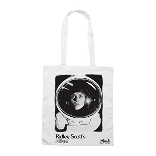 Borsa Ridley Scotts Alien - Bianca - Film by Mush Dress Your Style