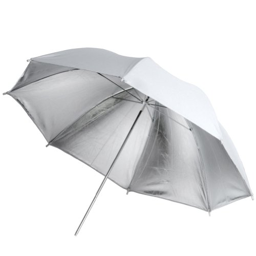 Neewer 84cm/33'' White/Silver Reflective Umbrella for Pros