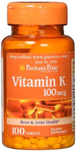 Puritans Pride Vitamin K