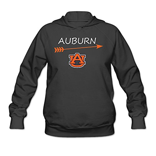 CYANY Auburn Tigers University Arrow Logo Women's Best Hoodies Hoodie - Brown Tiffany M