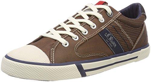 13602 Oliver Herren Braun s Sneaker Mocca qPUwxE