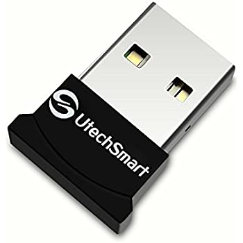 Bluetooth Adapter, (Broadcom BCM20702 chipset) UtechSmart USB Bluetooth 4.0 Low Energy Micro Adapter (Windows 10, 8.1, 8, 7, Raspberry Pi, Linux Compatible; Classic Bluetooth, and Stereo Headset Compatible)
