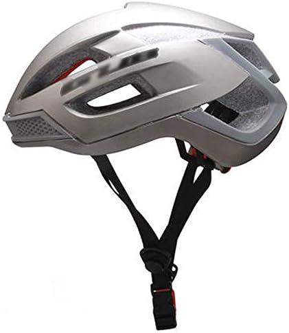 FH 自転車用ヘルメット、空気式ヘルメット、バランスバイク、ロードバイク、マウンテンバイク用ヘルメットを装備した男性と女性の自転車 (Color : Gray)