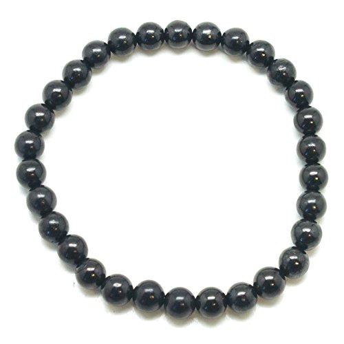 Shungite Bracelet - Crystal Motif Bracelet