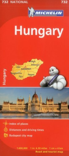 Michelin Hungary Map 732 (Maps/Country (Michelin)) by Michelin Travel & Lifestyle (2012-03-16)