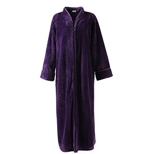 Morado Santonliso Una De Pieza Para Pijama Mujer Zw1xRx4qY