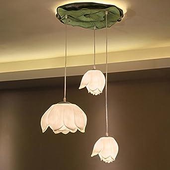LXSEHN Moderner Chinesischer Stil Harz Klassische Ideen Kinder Baby  Wohnzimmer Schlafzimmer Balkon Gang Mauer Lotus Augenschutz